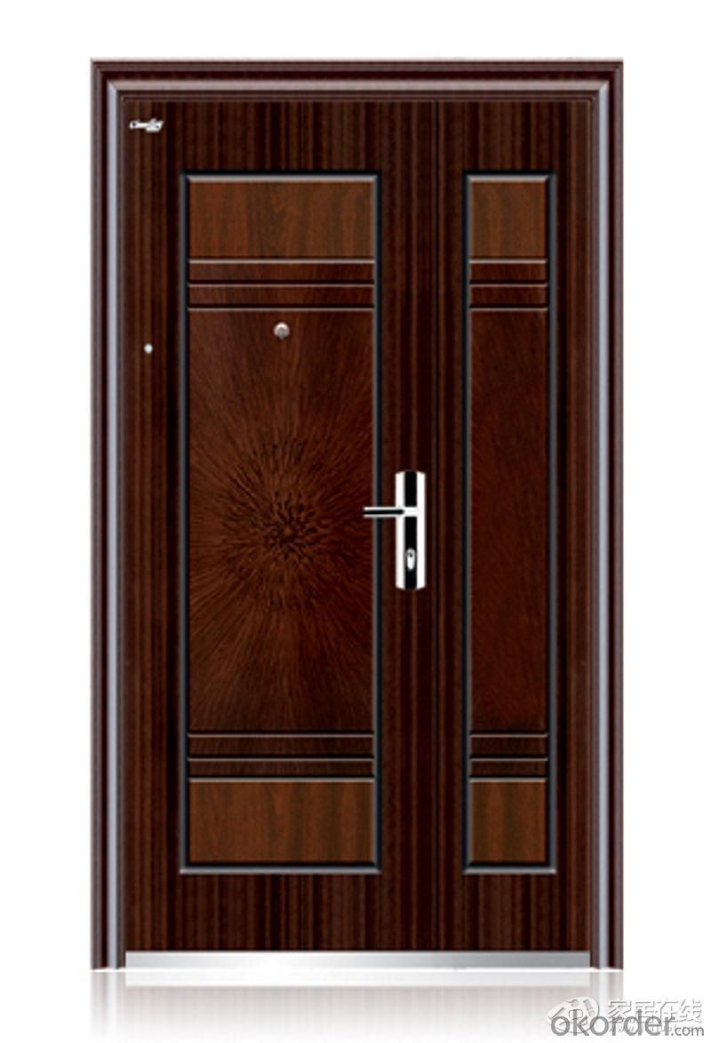 Competitive Interior Steel Wooden Door