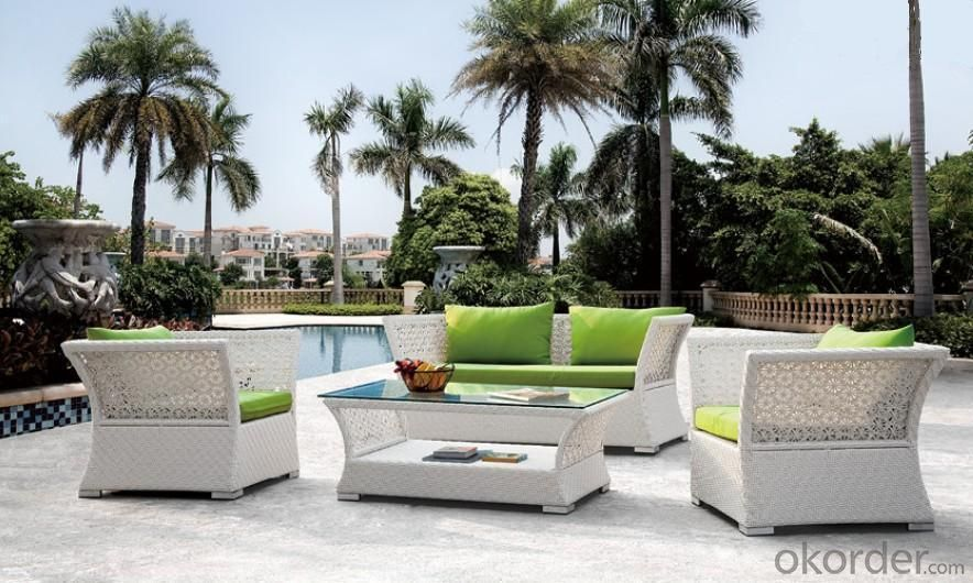 Aluminum Rattan Sofa Set SS029