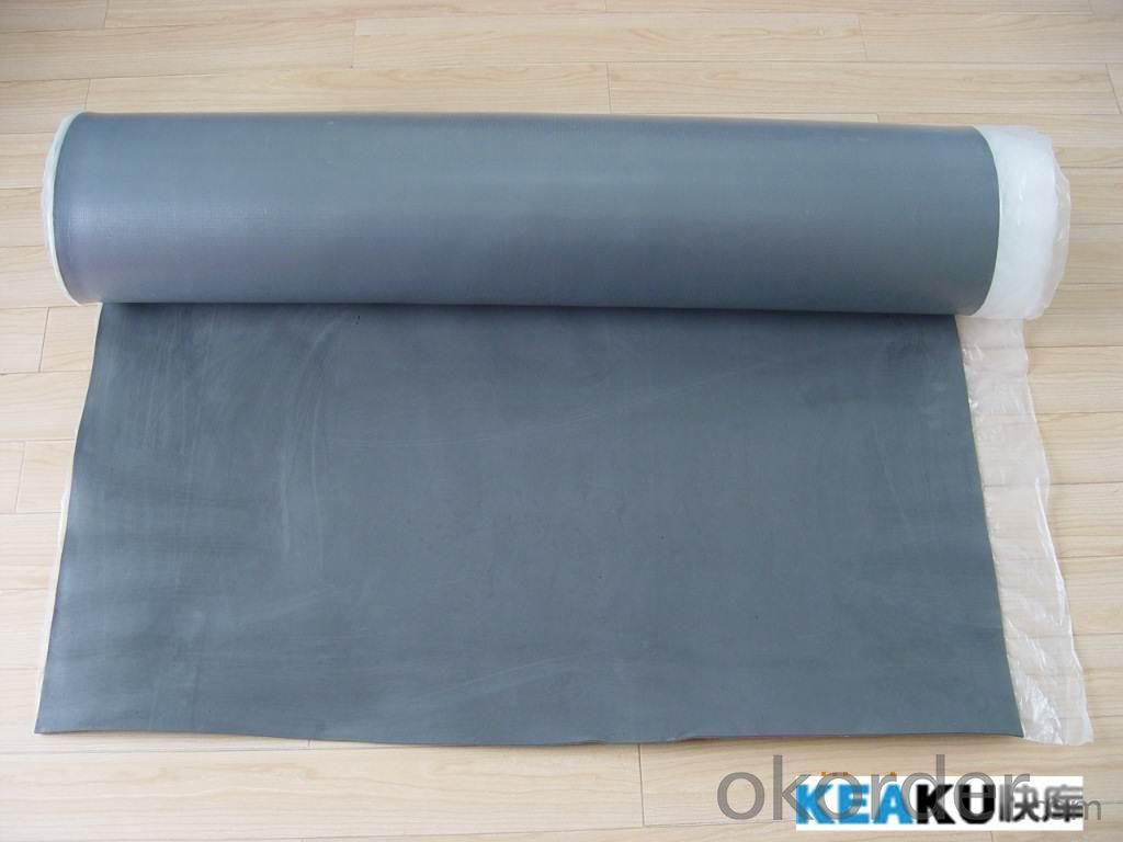 3mm Cheap Foam Blue Silver Underlayment
