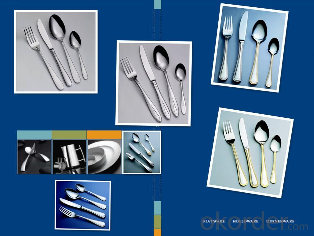Best Seller 24pcs Stainless Steel Flatware Set