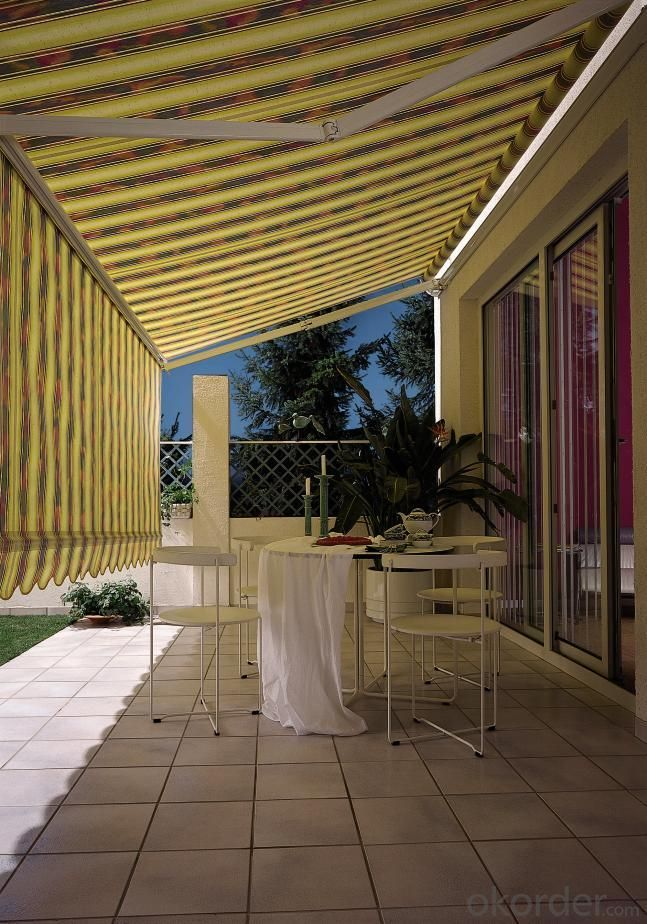 Retractable Awning For Anti-Sunshine