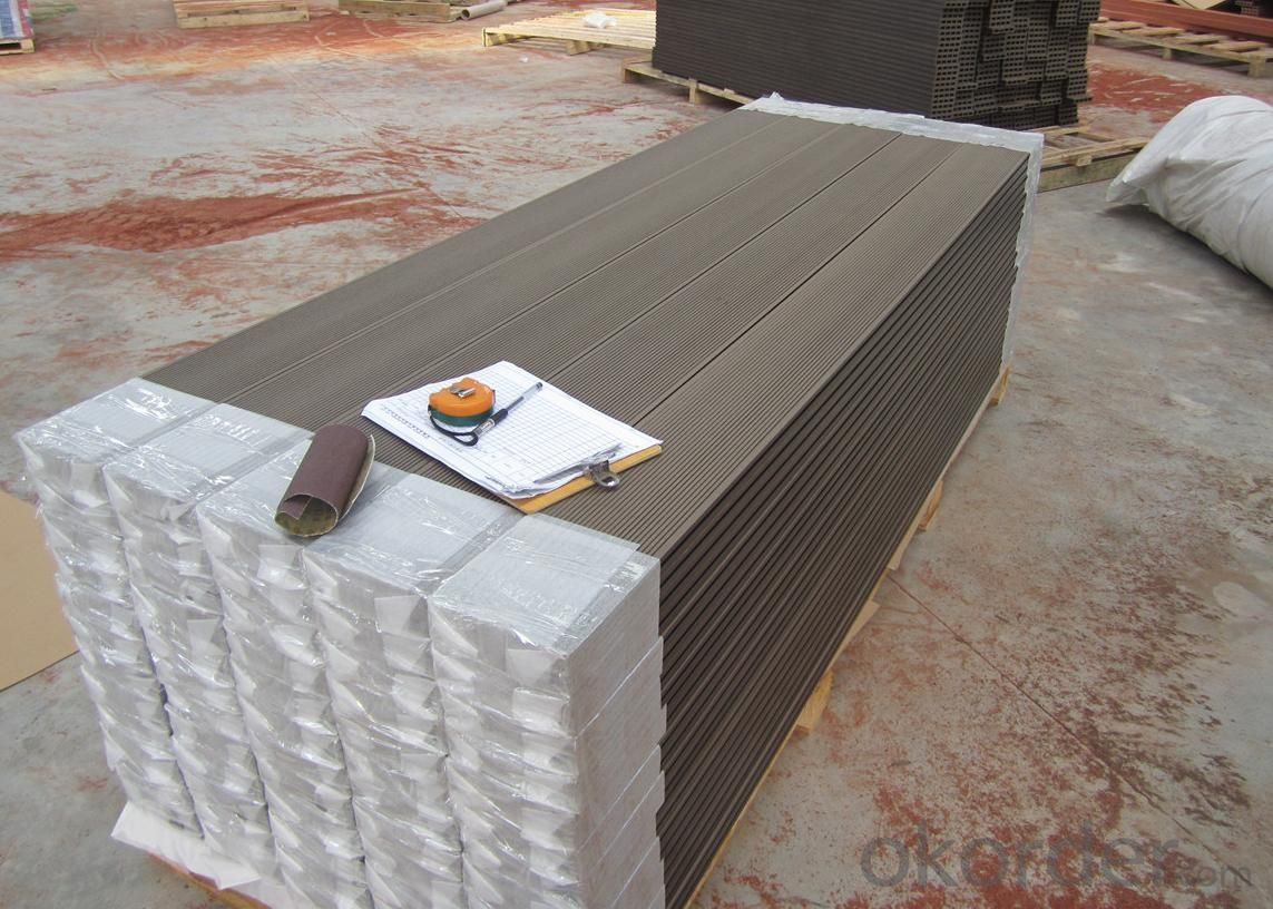 Wood Plastic Composite DIY Decking CMAX 30H14