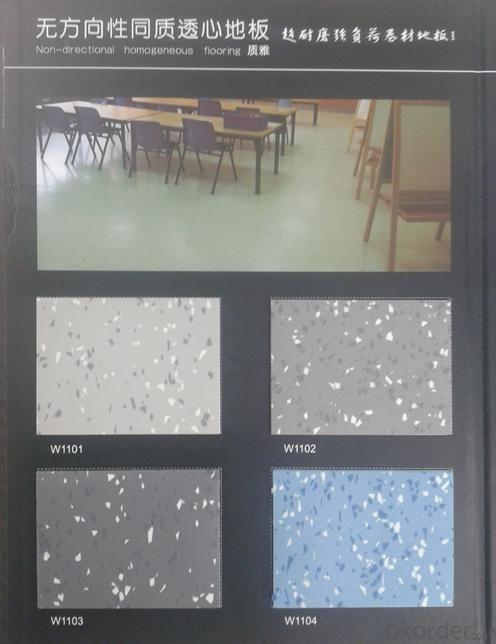 PVC Homogenous Flooring