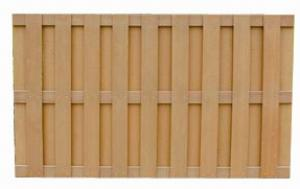 Wood Plastic Composite Fence/Rail CMAX SF012