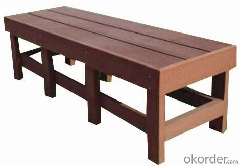 Wood Plastic Composite Outdoor Chair CMAX S011