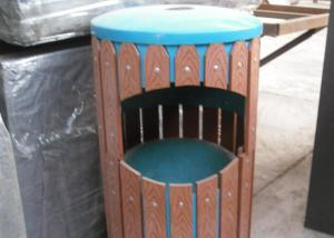 Wood Plastic Composite Dustbin CMAX H027