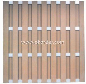 Wood Plastic Composite Fence/Rail CMAX SF021
