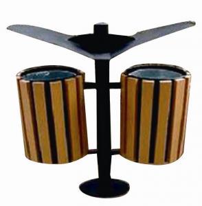 Wood Plastic Composite  Dustbin CMAX S022