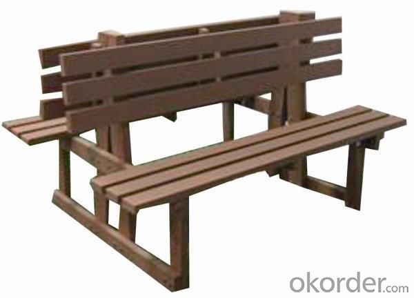 Wood Plastic Compostie Outdoor Chair CMAX S009