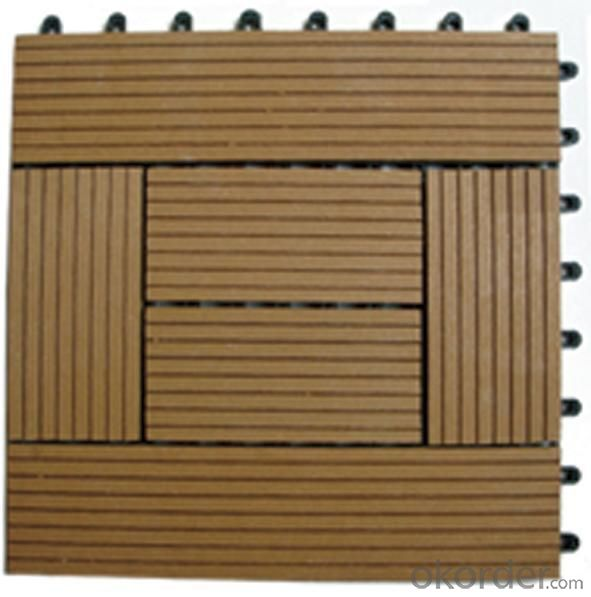 Wood Plastic Composite DIY Decking CMAX 30H16