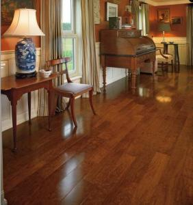 3 Layer 3 Strip American Cherry Flooring