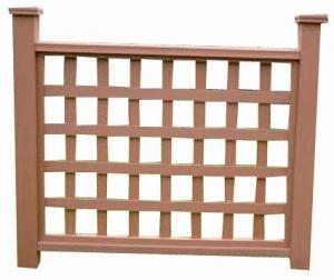 Wood Plastic Composite Fence/Rail CMAX HR007E