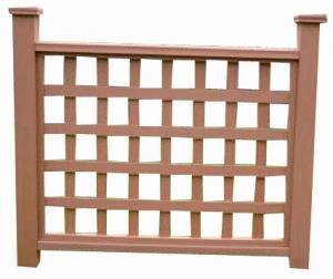 Wood Plastic Composite Fence/Rail CMAX HR007E
