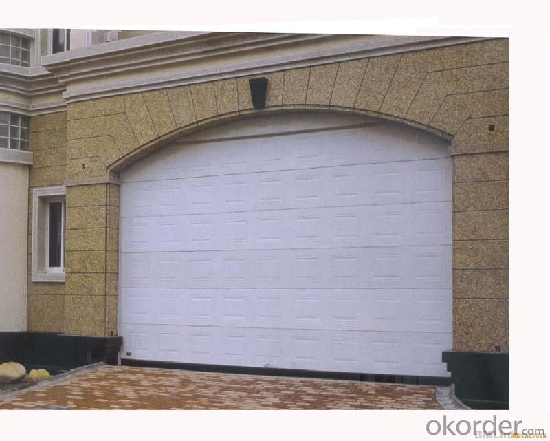 Buy garage door steel coil panel with any colors for 15 x 7 garage door price