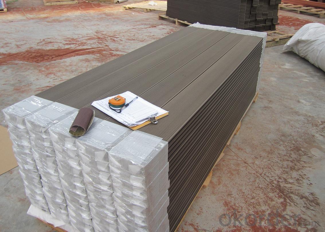Wood Plastic Composite DIY Decking CMAX 30H16