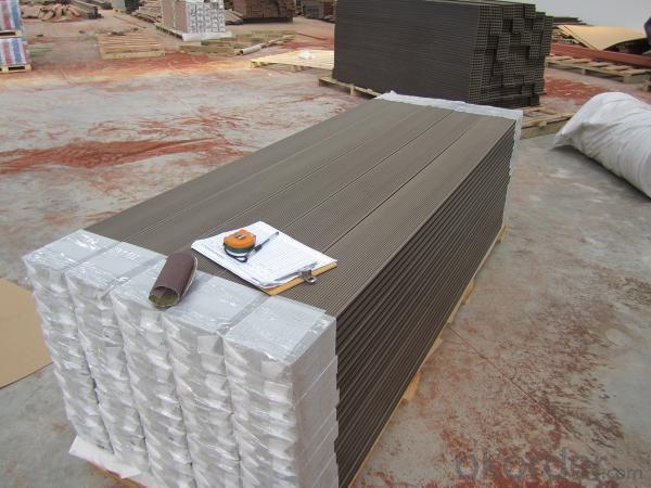 Wood Plastic Composite Decking CMAX H150S25