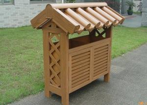 Wood Plastic Composite Dustbin CMAX H028