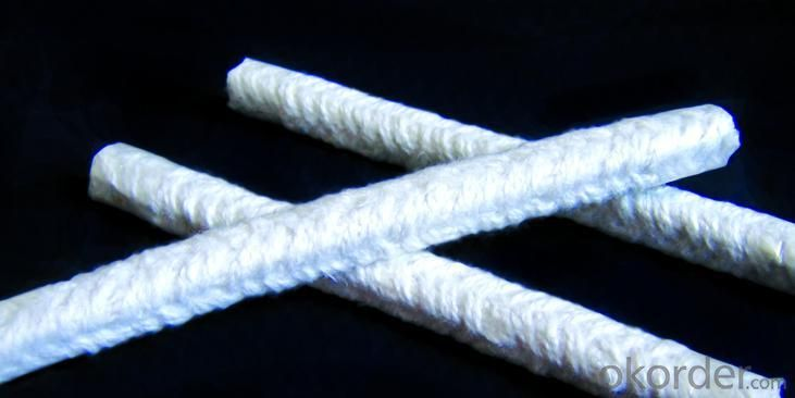 Ceramic Fiber Round Braid Rope