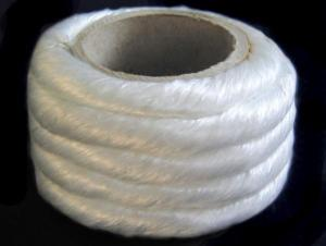 Textured Fiberglass Round Braided