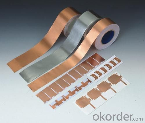 CF-002/1215 0.01mm Thin 99.99% Cooper foil Tape