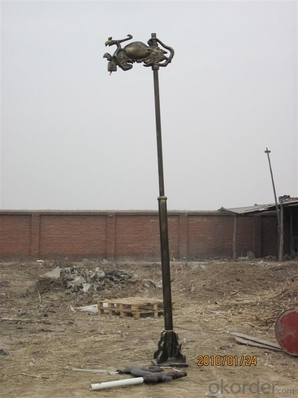 FRP Lighting Pole D50