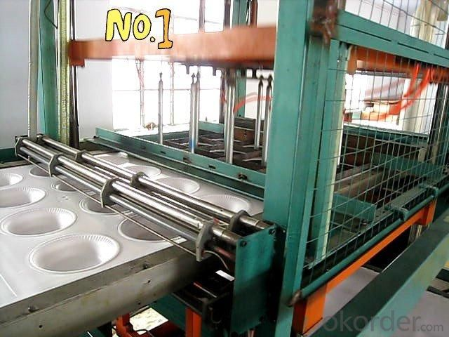 Plastic Vacuum Forming Machinery Lunch Box
