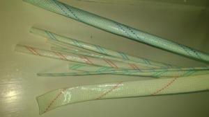 PVC Fiberglass Insulation Sleeving 1.5KV