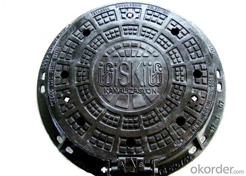 Ductile Iron Manhole Cover  B125
