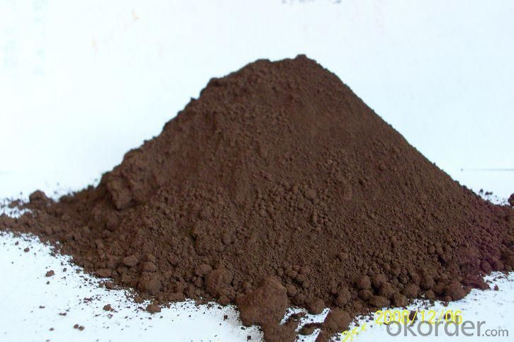 Iron Oxide Brown in Paniting