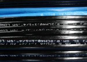 Seamless Steel Pipe For Fluid Transmission Service