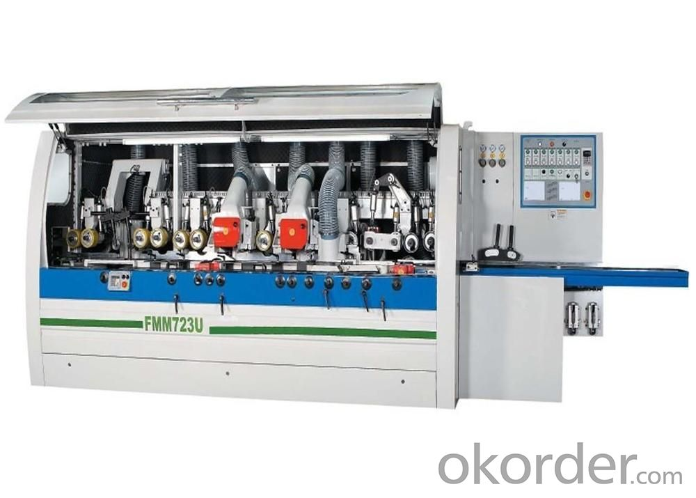 Four Side Moulder With 7 Spindles