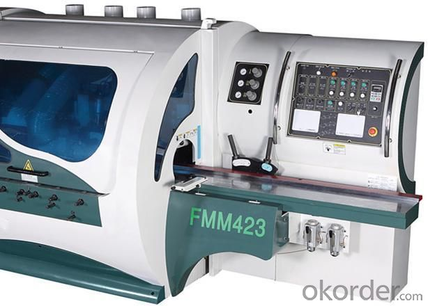 Four Side Moulder For Wood Working