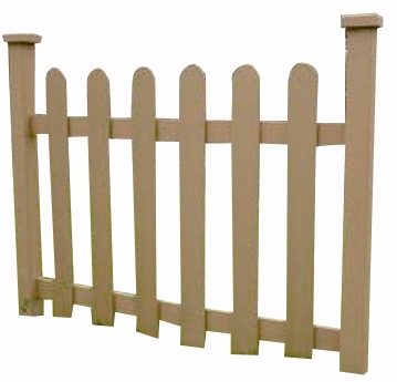Wood Plastic Composite Fence/Rail  CMAX HR009A