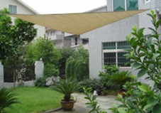Shade sail PE CMAX6140 for home and garden