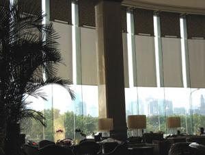 Motorized Roller Blinds For Building