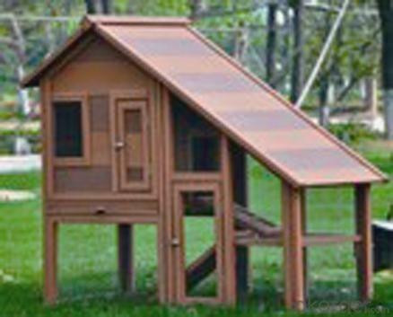 Wood Plastic Composite Chicken House CMAX L038