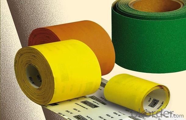 Abrasive Paper-Rolls