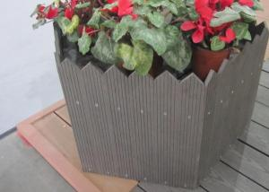 Wood Plastic Composite Flower Box CMAX H034