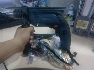 2 speed 1100w impact drill