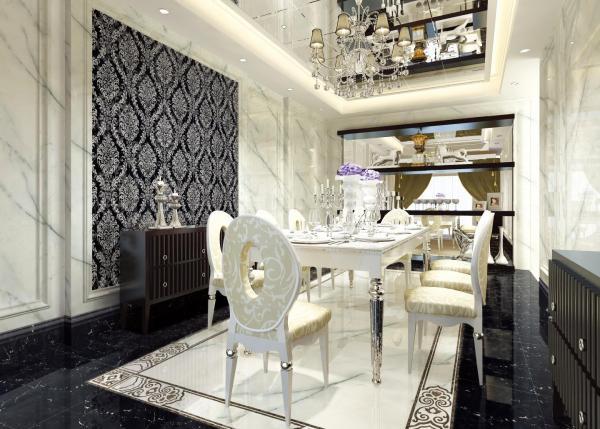 Glazed Polished Porcelain Tile ZG-JW80024