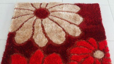 Chinese Knot With Viscose Carpet