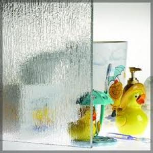 Patterned Glass-Rain