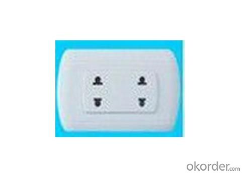 Double Wall Socket 16A in American Style