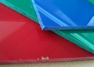 10 Year Guarantee Anti-Flame Acrylic Sheet With Many Colors