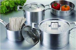 High Quality 7pcs Stainless Steel Cookware Sets