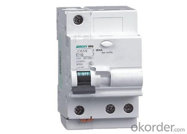 C65LE Elcb Rcbo Earth Leakage Circuit Breaker
