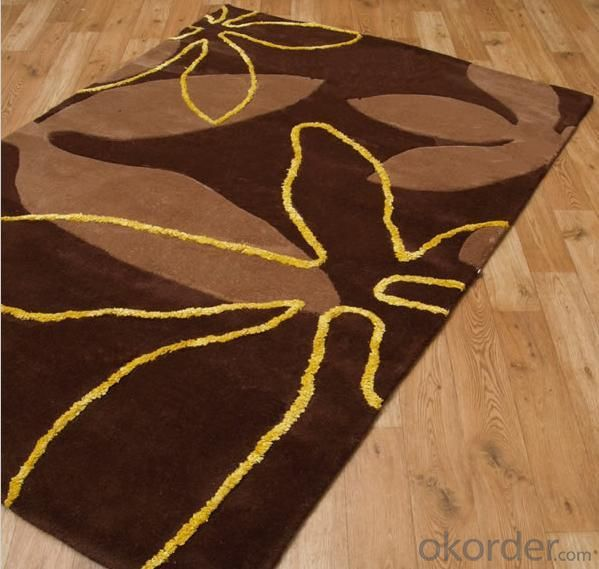 Comfortable Wool Hook Carpet