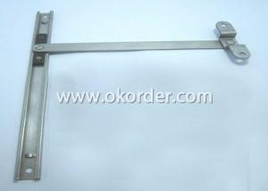 Window Arm Hinge-Door Restrictor