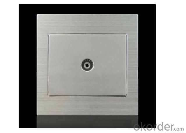 Modern TV Socket/TV Wall Socket/Aaluminum Alloy Socket