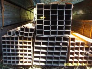 Welded Black Carbon Square Tubes Pre-galvanized/ Galvanized ASTM A500 10*10-400*400 Structure Pipe